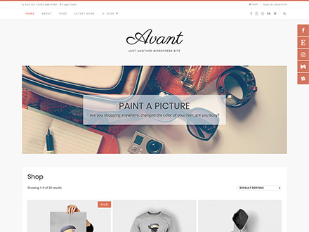 Kaira - Avant WordPress Theme
