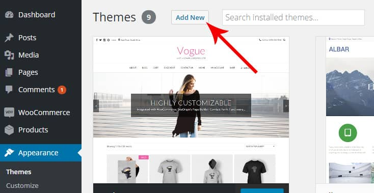 How to install the premium theme – Kaira
