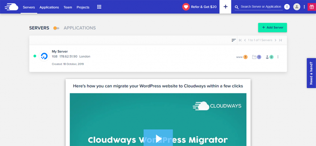 Cloudways Servers