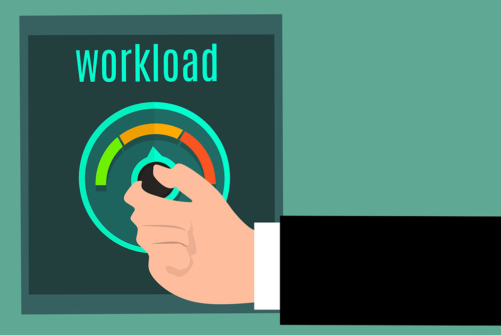 speed up your WordPress site - Workload