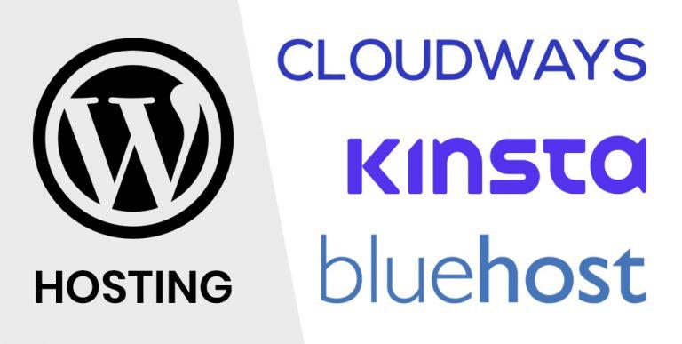 Kaira's Top 3 WordPress hosting solutions 2020