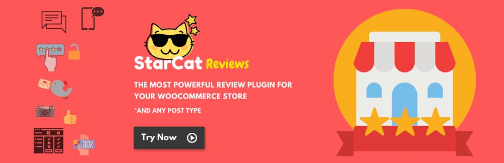WooCommerce Plugins - Starcat Reviews
