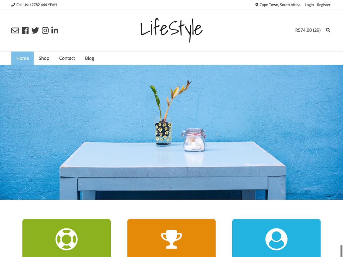 Overlay Child - Lifestyle theme