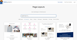 Import Page Layouts