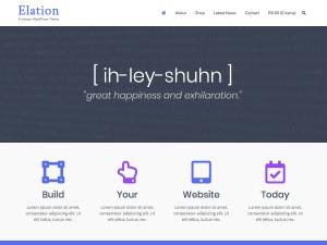 Elation WordPress theme