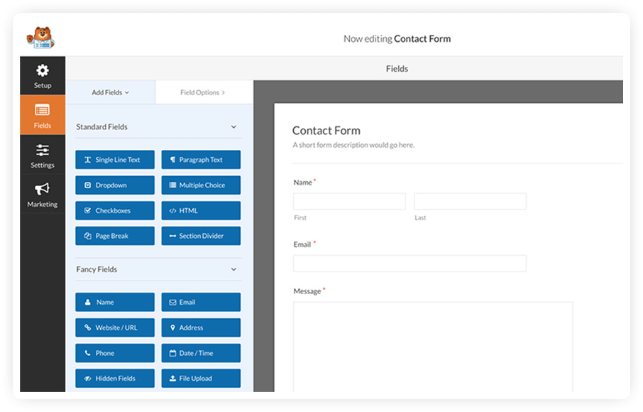 WPForms - Customizable WordPress Forms Plugin